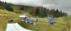 Archiv Foto Webcam Brunnalm: Bergstation Sesselbahn 06:00