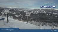 Archiv Foto Webcam Klippitztörl - Bärenwaldlift Bergstation 11:00