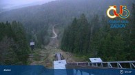 Archived image Webcam Ski Resort Zadov Churanov 23:00