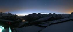 Archiv Foto Webcam Zermatt - Trockener Steg 22:00