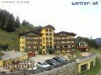 Archived image Webcam Reiteralm: View Hotel Raunerhof 08:00