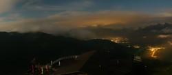 Archiv Foto Webcam Hochkönig: 360 Grad Panorama Aberg 18:00
