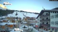 Archiv Foto Webcam Hotel Schmelzhof in Lech 02:00