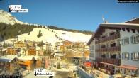 Archiv Foto Webcam Hotel Schmelzhof in Lech 04:00