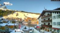 Archiv Foto Webcam Hotel Schmelzhof in Lech 08:00