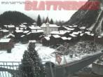 Archiv Foto Webcam Altes Dorf in Blatten 02:00
