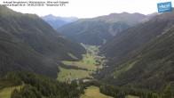 Archiv Foto Webcam Mittelstation Ankogel: Blick ins Tal 02:00