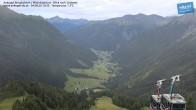 Archiv Foto Webcam Mittelstation Ankogel: Blick ins Tal 04:00