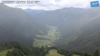 Archiv Foto Webcam Mittelstation Ankogel: Blick ins Tal 08:00