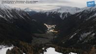 Archiv Foto Webcam Mittelstation Ankogel: Blick ins Tal 19:00
