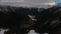 Archiv Foto Webcam Mittelstation Ankogel: Blick ins Tal 21:00