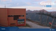 Archiv Foto Webcam Stubnerkogel Bergstation Südseite 21:00