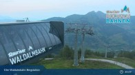 Archiv Foto Webcam Rauris - Waldalmbahn Bergstation 21:00