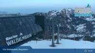 Archiv Foto Webcam Rauris - Waldalmbahn Bergstation 19:00