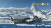 Archived image Webcam Panoramic view from Riffelberg 2582m 05:00