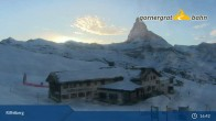 Archiv Foto Webcam Zermatt: Ausblick Riffelberg 19:00