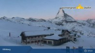 Archived image Webcam Panoramic view from Riffelberg 2582m 01:00