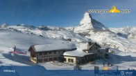 Archived image Webcam Panoramic view from Riffelberg 2582m 03:00