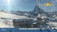 Archived image Webcam Panoramic view from Riffelberg 2582m 09:00