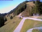 Archived image Webcam Top Station Hörnerbahn Bolsterlang 08:00