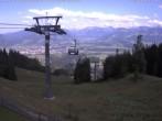 Archiv Foto Webcam Ofterschwang: Bergstation Weltcup Express 10:00