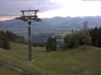 Archiv Foto Webcam Ofterschwang: Bergstation Weltcup Express 02:00