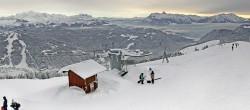 Archived image Webcam Les Gets: Le Mont Chéry 10:00
