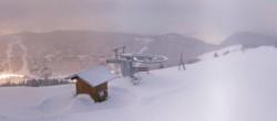 Archived image Webcam Les Gets: Le Mont Chéry 20:00