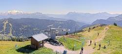 Archiv Foto Webcam Les Gets: Le Mont Chéry 10:00