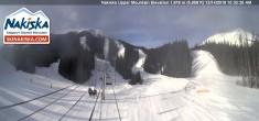 Archived image Webcam Kids World, base station Nakiska Mountain 04:00