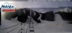 Archived image Webcam Kids World, base station Nakiska Mountain 06:00