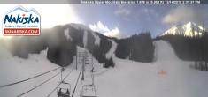 Archived image Webcam Kids World, base station Nakiska Mountain 08:00