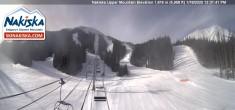 Archiv Foto Webcam Kinderland, Talstation Nakiska Mountain 06:00