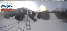 Archiv Foto Webcam Kinderland, Talstation Nakiska Mountain 10:00