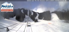 Archived image Webcam Kids World, base station Nakiska Mountain 04:00