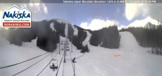 Archived image Webcam Kids World, base station Nakiska Mountain 06:00