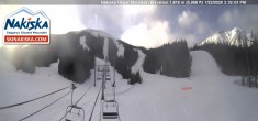 Archived image Webcam Kids World, base station Nakiska Mountain 08:00