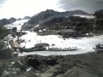Archiv Foto Webcam Pitztaler Gletscher: Bergstation Gletscherexpress 10:00