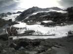 Archiv Foto Webcam Pitztaler Gletscher: Bergstation Gletscherexpress 12:00