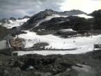 Archiv Foto Webcam Pitztaler Gletscher: Bergstation Gletscherexpress 14:00