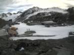 Archiv Foto Webcam Pitztaler Gletscher: Bergstation Gletscherexpress 16:00