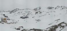 Archiv Foto Webcam Pitztaler Gletscher: Bergstation Gletscherexpress 06:00