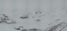 Archiv Foto Webcam Pitztaler Gletscher: Bergstation Gletscherexpress 08:00