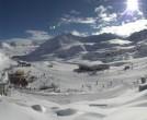 Archiv Foto Webcam Pitztaler Gletscher: Bergstation Gletscherexpress 09:00