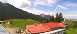 Archiv Foto Webcam Alpspitzbahn - Mittelstation 03:00