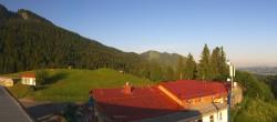 Archiv Foto Webcam Alpspitzbahn - Mittelstation 22:00