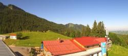 Archiv Foto Webcam Alpspitzbahn - Mittelstation 00:00