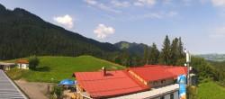 Archiv Foto Webcam Alpspitzbahn - Mittelstation 04:00