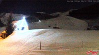 Archived image Webcam Top station of the Pancani chair lift 22:00