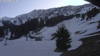 Archiv Foto Webcam Bridger Bowl: Deer Park 17:00
